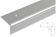 Kampas laiptams aliuminis LVT 5mm 300cm