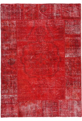 Kilimas Patchwork 1.70*2.40 red