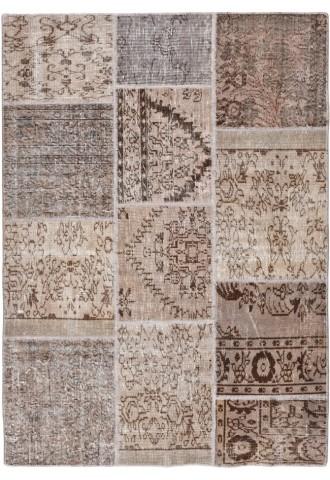 Kilimas Patchwork 140*200 Gray