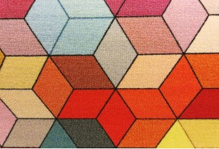 Kiliminė danga Hexagon felt 4m