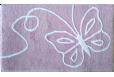 Vonios kilimėlis Patara lilas 60*100